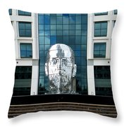 Metalmorphosis Distant Throw Pillow