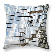 Metalmorphosis Ear Throw Pillow