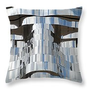 Metalmorphosis Eyes Throw Pillow by Randall Weidner