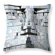 Metalmorphosis Spewing Throw Pillow