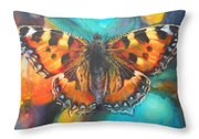 Metamorphose Throw Pillow