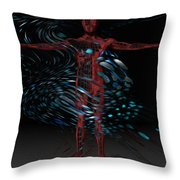 Metamorphosis Throw Pillow by Jack Zulli