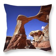 Metate Arch 2 Throw Pillow