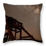 Meteor At Bodie Throw Pillow