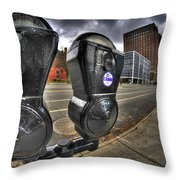 Meter Demons Throw Pillow