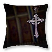 Methodist Jewelry Throw Pillow