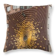 Metronome Throw Pillow