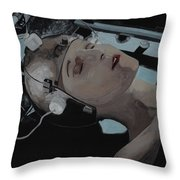 Metropolis Panel 1 Throw Pillow