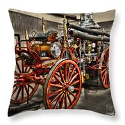 Metropolitan Steamer Throw Pillow
