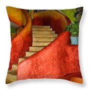Mexican Colors Throw Pillow