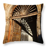 Mexican Door 27 Throw Pillow