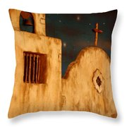 Mexican Night Throw Pillow