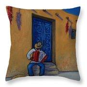 Mexico Impression II Throw Pillow
