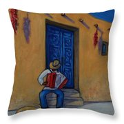 Mexico Impression II Throw Pillow