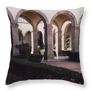 Mexico Orphanage 2 By Tom Ray Throw Pillow