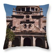 Mexico Orphanage 3 By Tom Ray Throw Pillow