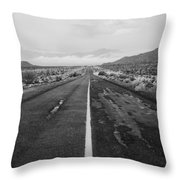 Mexico Route 3 Throw Pillow