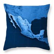 Mexico Topographic Map Digital Art by Frank Ramspott