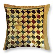 Mexuar In The Alhambra Throw Pillow