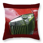 Mg Magnette Throw Pillow