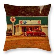 Mi Cr B15 Texaco Throw Pillow