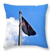 Mia/pow Flag Throw Pillow