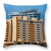 Miami Apartments Throw Pillow