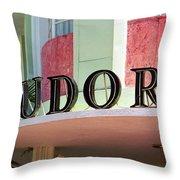 Miami Beach - Art Deco 11 Throw Pillow