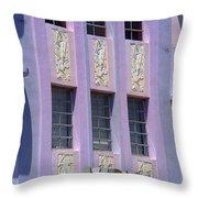 Miami Beach - Art Deco 12 Throw Pillow