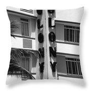 Miami Beach - Art Deco 17 Throw Pillow