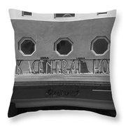 Miami Beach - Art Deco 21 Throw Pillow