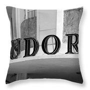 Miami Beach - Art Deco 22 Throw Pillow