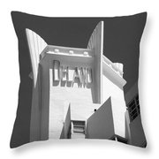 Miami Beach - Art Deco 23 Throw Pillow