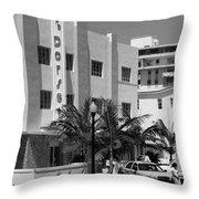Miami Beach - Art Deco 24 Throw Pillow