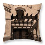 Miami Beach - Art Deco 28 Throw Pillow