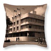Miami Beach - Art Deco 35 Throw Pillow