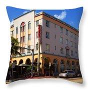 Miami Beach - Art Deco 36 Throw Pillow