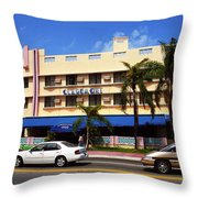 Miami Beach - Art Deco 38 Throw Pillow