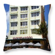 Miami Beach - Art Deco 43 Throw Pillow