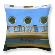 Miami Beach - Art Deco 6 Throw Pillow
