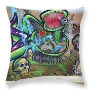 Miami Swamp Throw Pillow