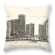 Miami - Venetian Causeway Throw Pillow