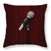 Mic Throw Pillow