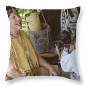 Miccosukee Indian Tribe Throw Pillow