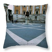 Michael Angelo's Campidoglio Throw Pillow