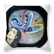 Michael Jackson  Throw Pillow by Augusta Stylianou