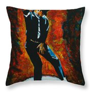 Michael Jackson Dancing The Dream Throw Pillow