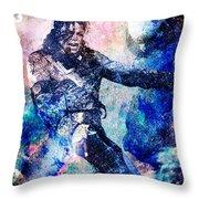 Michael Jackson Original Painting  Throw Pillow