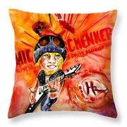 Michael Schenker In Dublin Throw Pillow