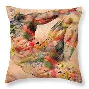 Michelangelo  Throw Pillow by Mark Ashkenazi